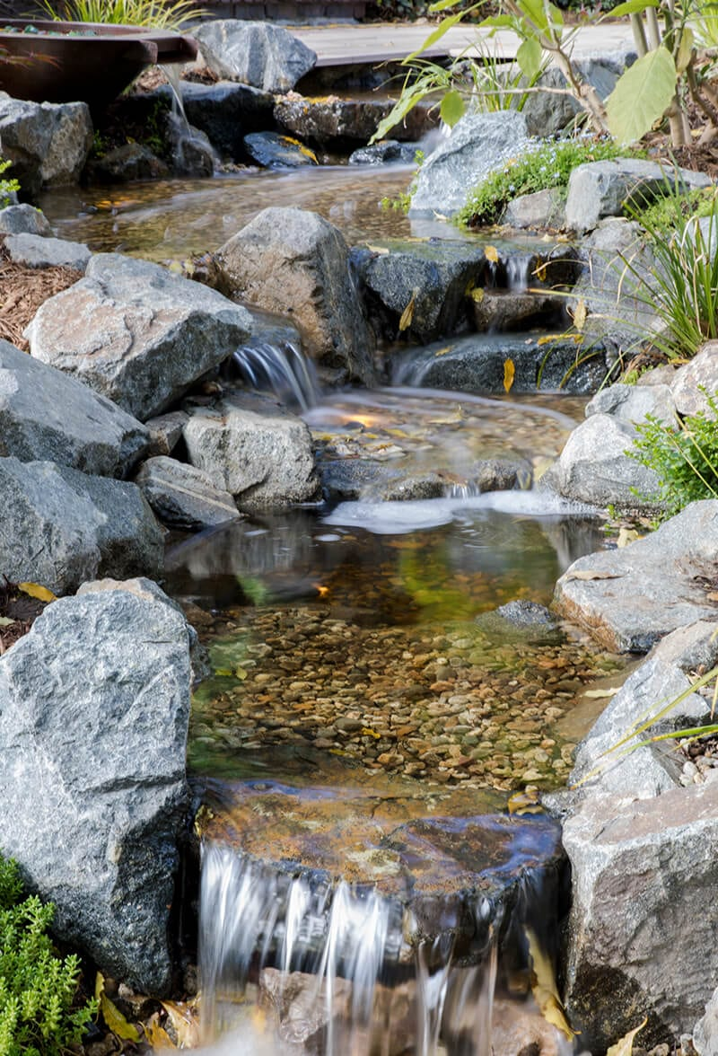 Pondless Waterfall for Showcase House 2017