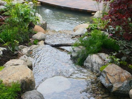 Pasadena Showcase 2011 | 10′ x 6′ Pond & Pool Waterfall
