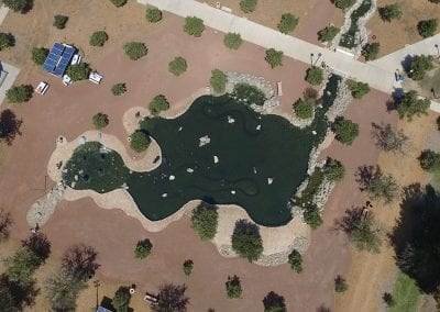 California State University Northridge (CSUN) | 100′ x 50′ Pond