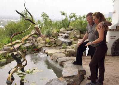 William Shatner | 15′ x 5′ Koi Pond