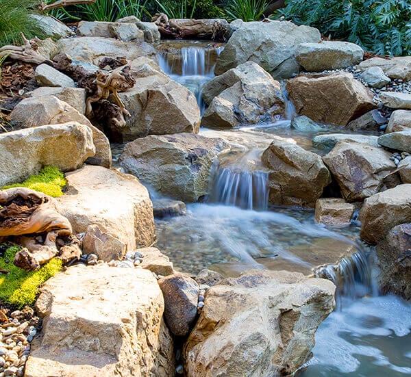Waterfall Laguna Rock