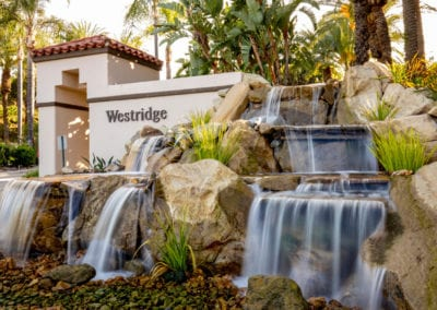 Westridge Calabasas | Dual 25′ Wide Waterfalls