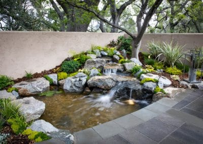 Hidden Oasis - Pasadena Showcase House of Design 2019 - Pond