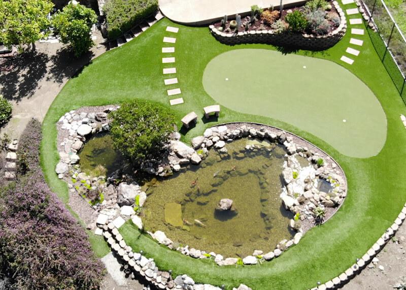 Glendora Hillside | 25′ x 16′ & 10′ x 12′ Pond