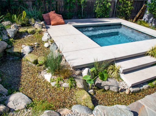 Spa & Stream | 16′ Pondless Waterfalls
